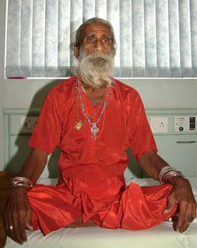Prahlad Jani santone indiano