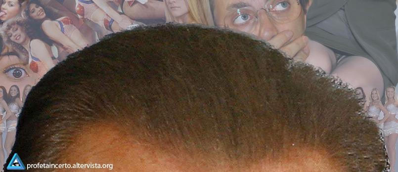 Silvio Berlusconi - La sua voglia di pelo