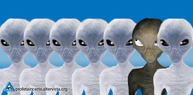 Alieno tra gli alieni