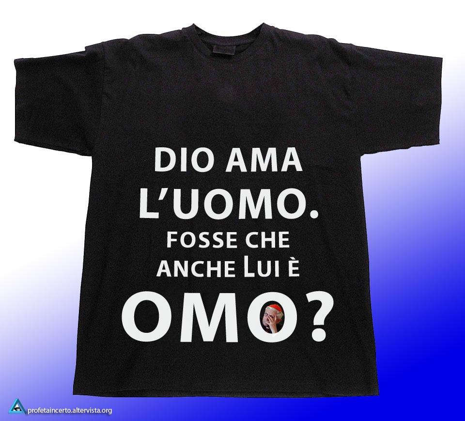 Europride, la maglietta di Ratzinger