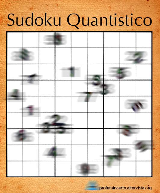 Sudoku Quantistico