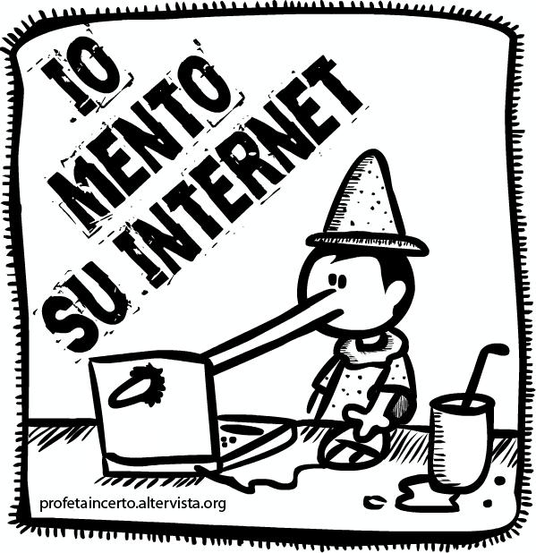 Io MENTO su internet - Campagna per la Libertà Digitale
