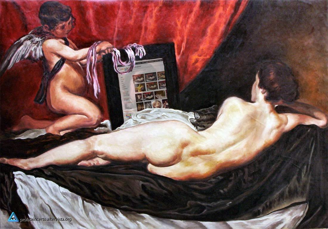 Diego Velasquez - Venere allo Specchio (o grosso iPad)