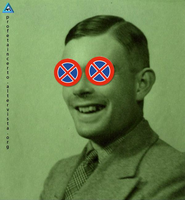 Alan Turing intuisce il Problema della Fermata