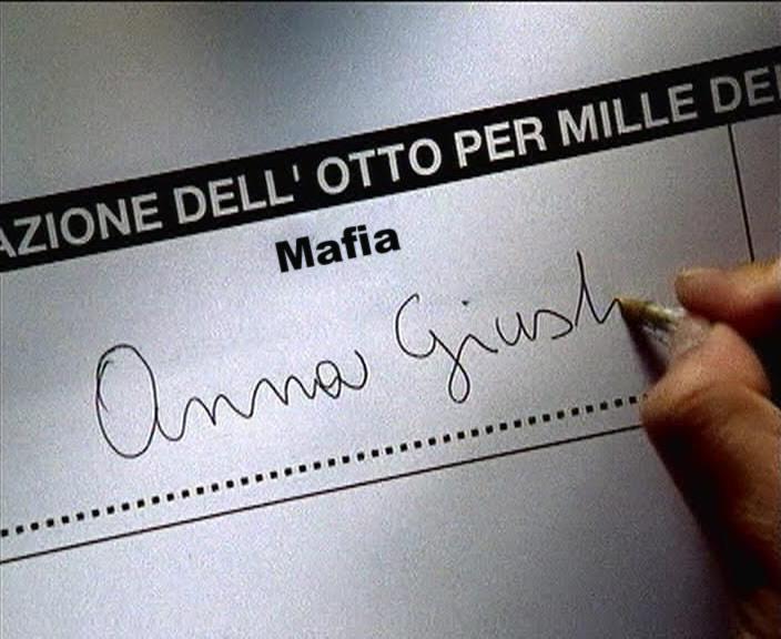 8 x mille alla Mafia