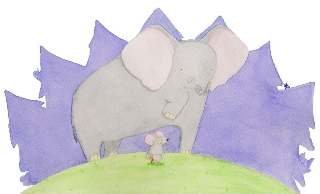 Danila Leonardi - L'Elefante e il Topolino