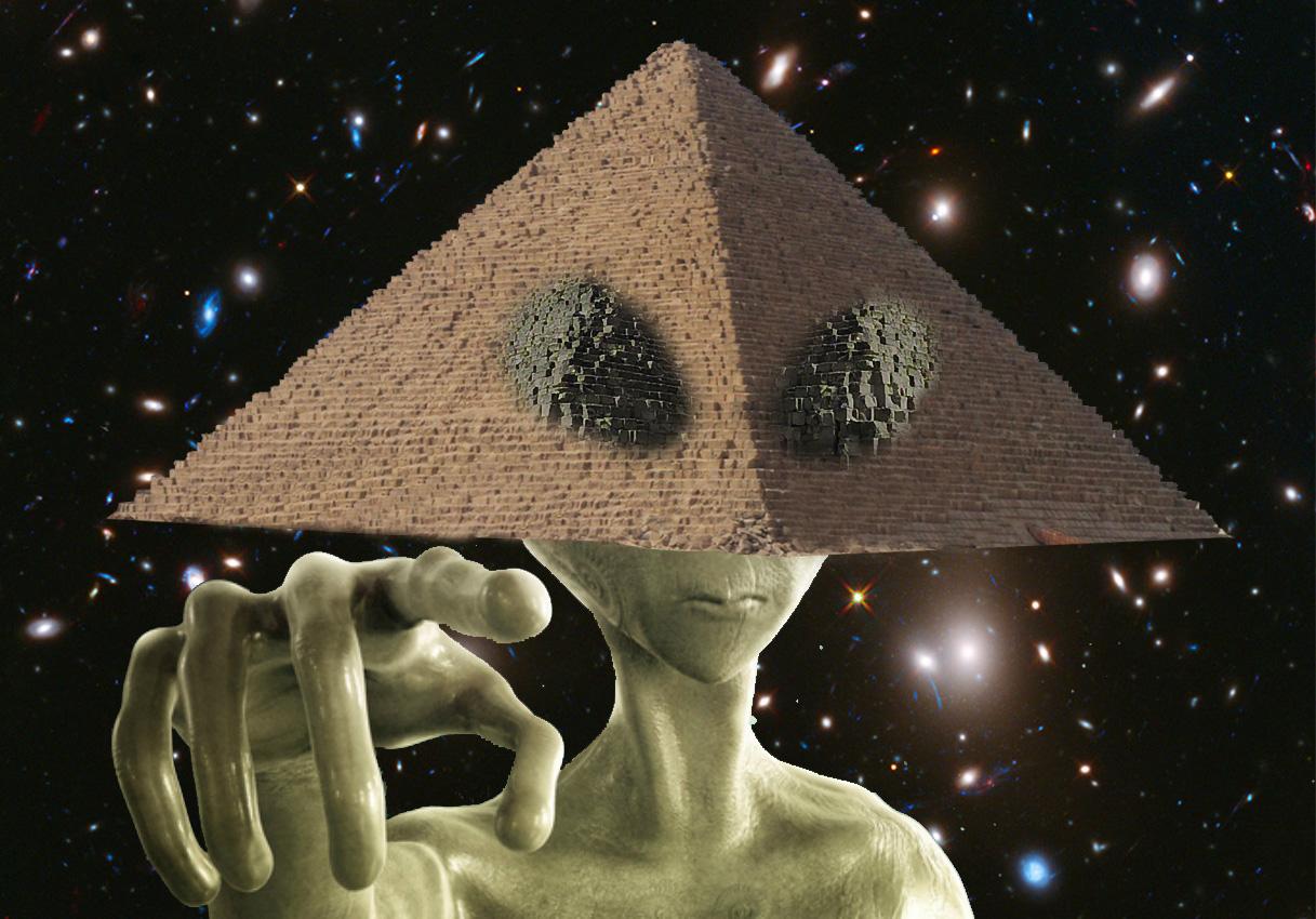 Piramidi e Ufo
